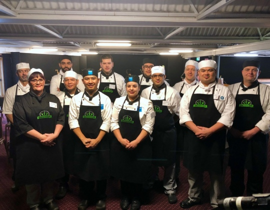 Senior Lifestyle Cuisine Competition